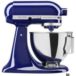 Kitchenaid mixer 4.5 quart kobalt blue in a sealed